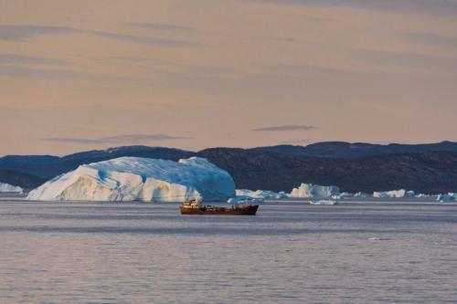 Eisberge vor Illulisat/ Grönland